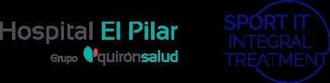 Logo Sport IT y Hospital el Pilar