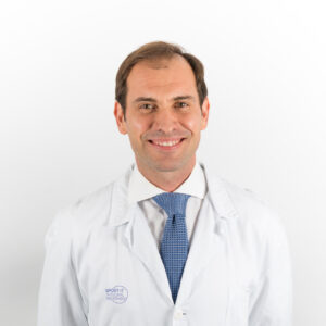 Dr. Vicente López, traumtólogo deportivo