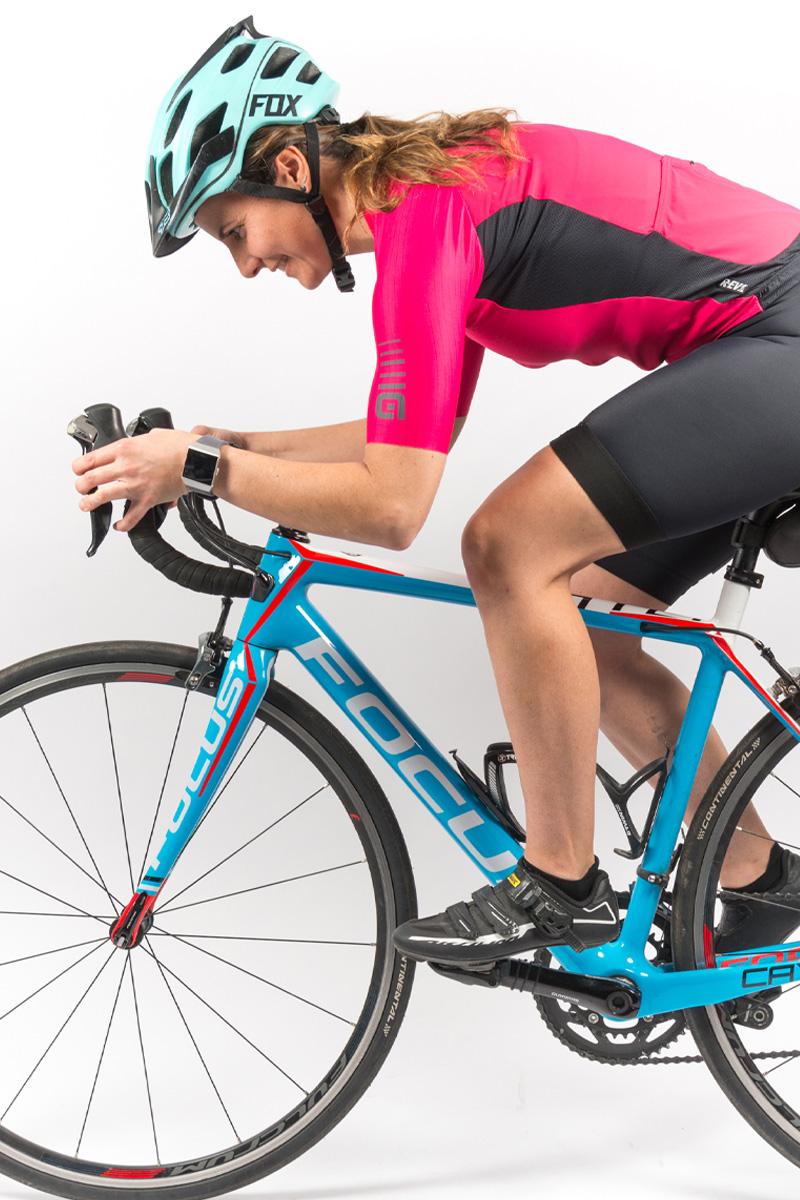 Mejorar el rendimiento del ciclista